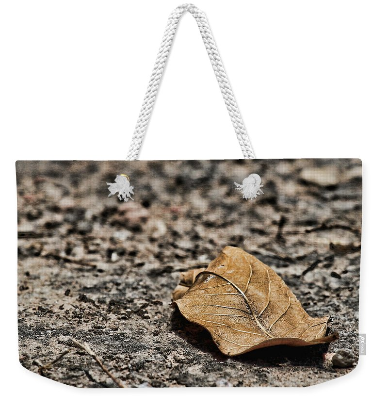 Loneliness Weekender Tote Bag featuring the photograph Loneliness by Agustin Uzarraga
