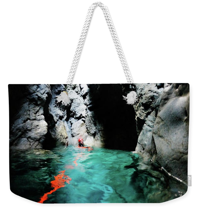 Toughness Weekender Tote Bag featuring the photograph Lonely Place by Extreme-photographer