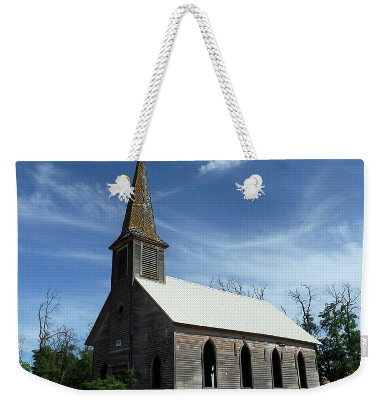 Landscape Weekender Tote Bag featuring the photograph Lonesome by Lauren Leigh Hunter Fine Art Photography