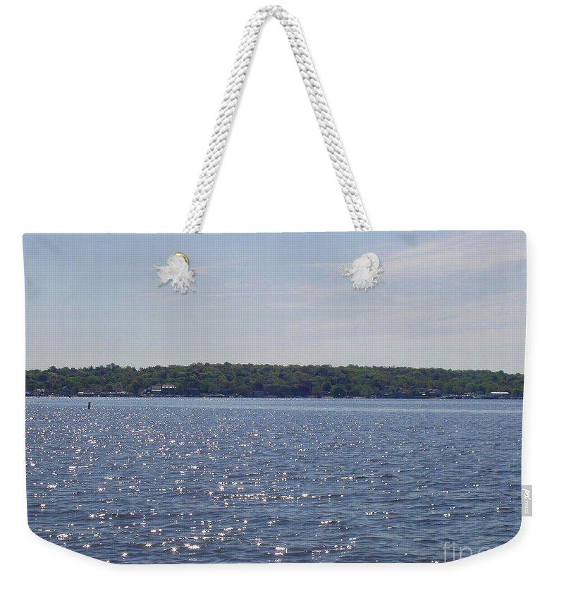 Long Island Sun At Midday Weekender Tote Bag featuring the photograph Long Island Sun At Midday by John Telfer