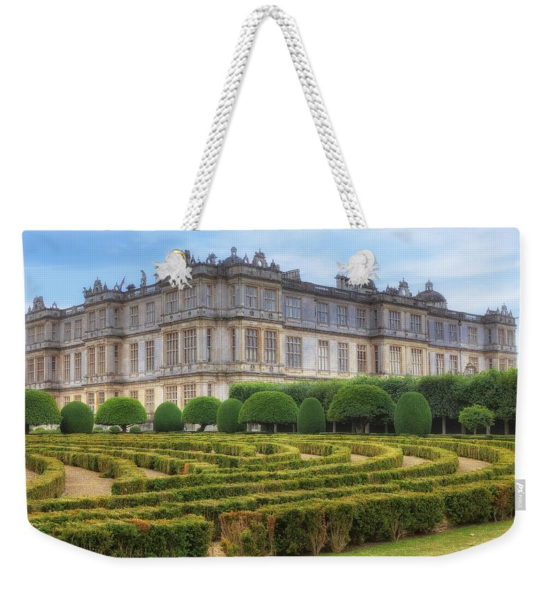 Longleat House Weekender Tote Bag featuring the photograph Longleat House - Wiltshire by Joana Kruse