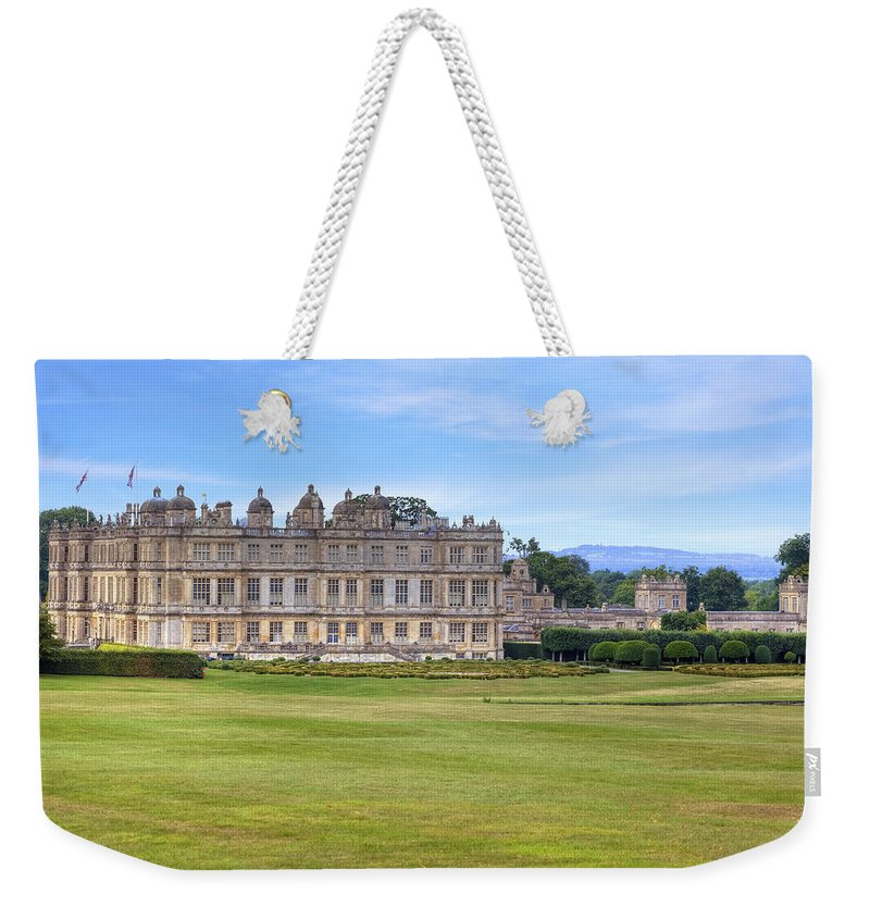 Longleat House Weekender Tote Bag featuring the photograph Longleat House Wiltshire by Joana Kruse