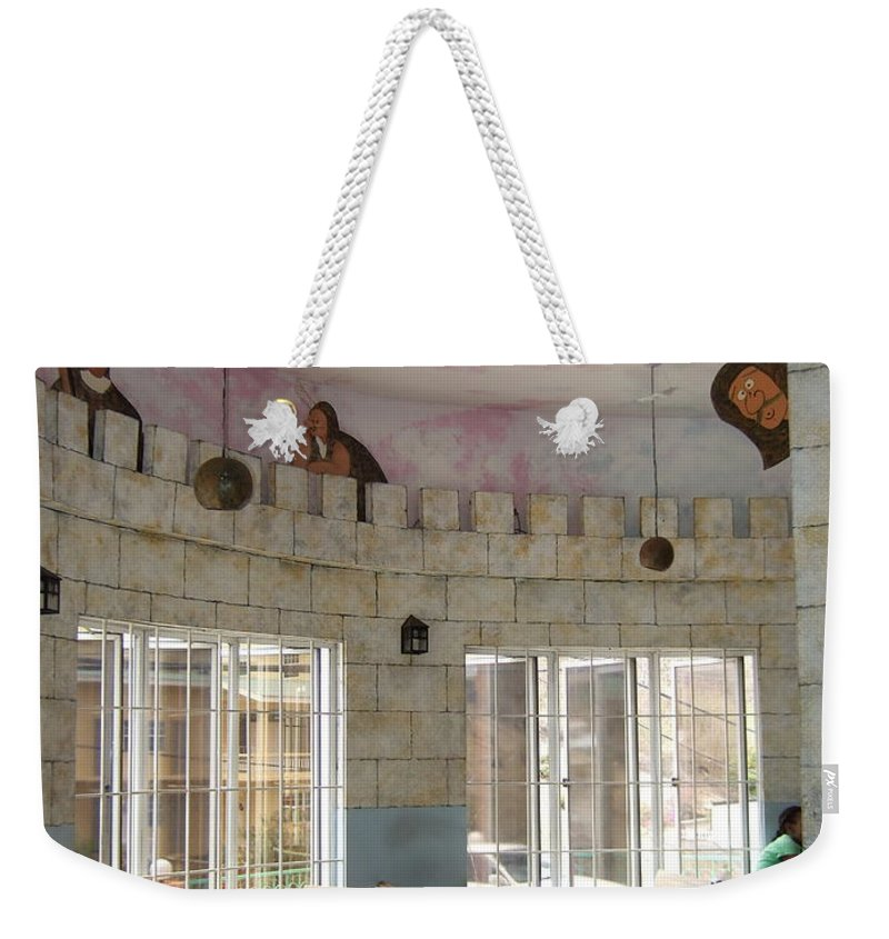 Weekender Tote Bag featuring the photograph Look Out For Food by Katerina Naumenko