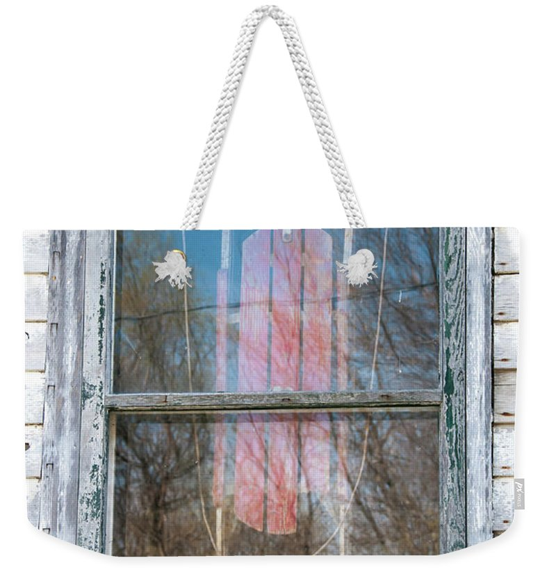 Guy Whiteley Photography Weekender Tote Bag featuring the photograph Look Through My Window II by Guy Whiteley