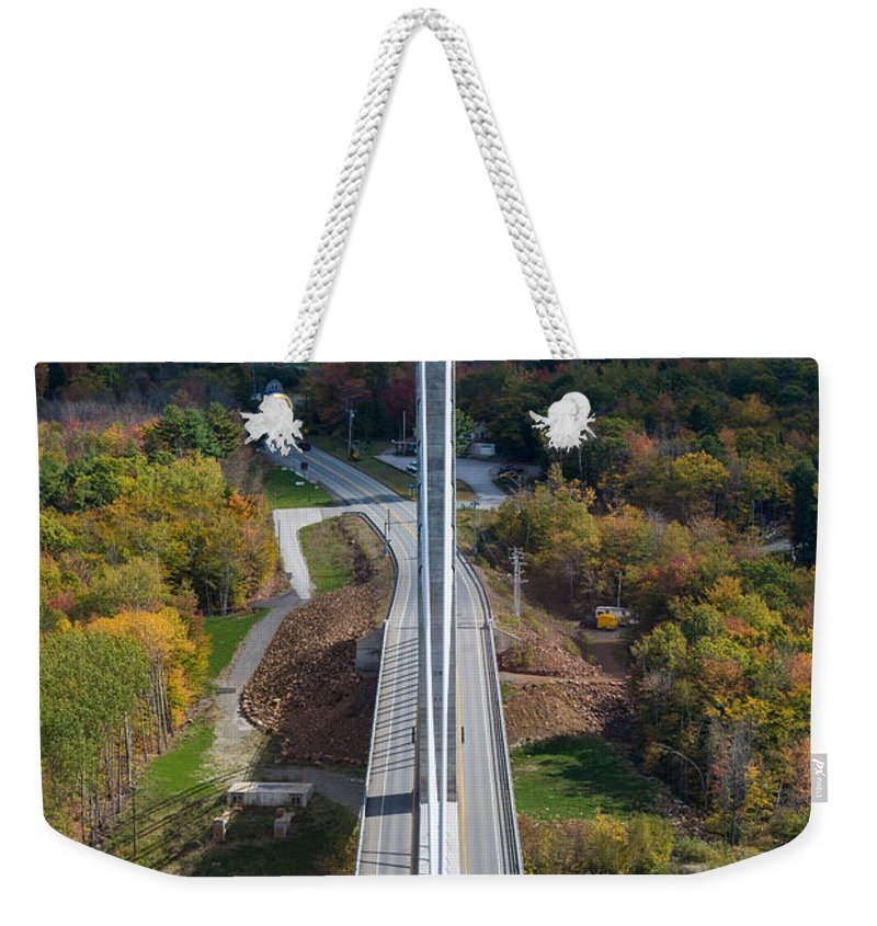 Maine Weekender Tote Bag featuring the photograph Looking East by Kristopher Schoenleber
