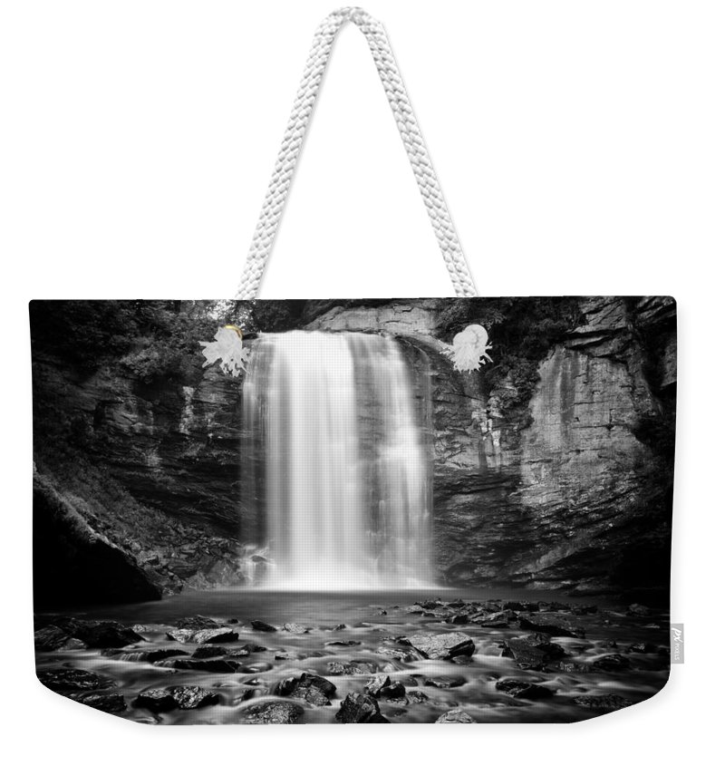 Looking Glass Falls Weekender Tote Bag featuring the photograph Looking Glass Falls Number 20 by Ben Shields