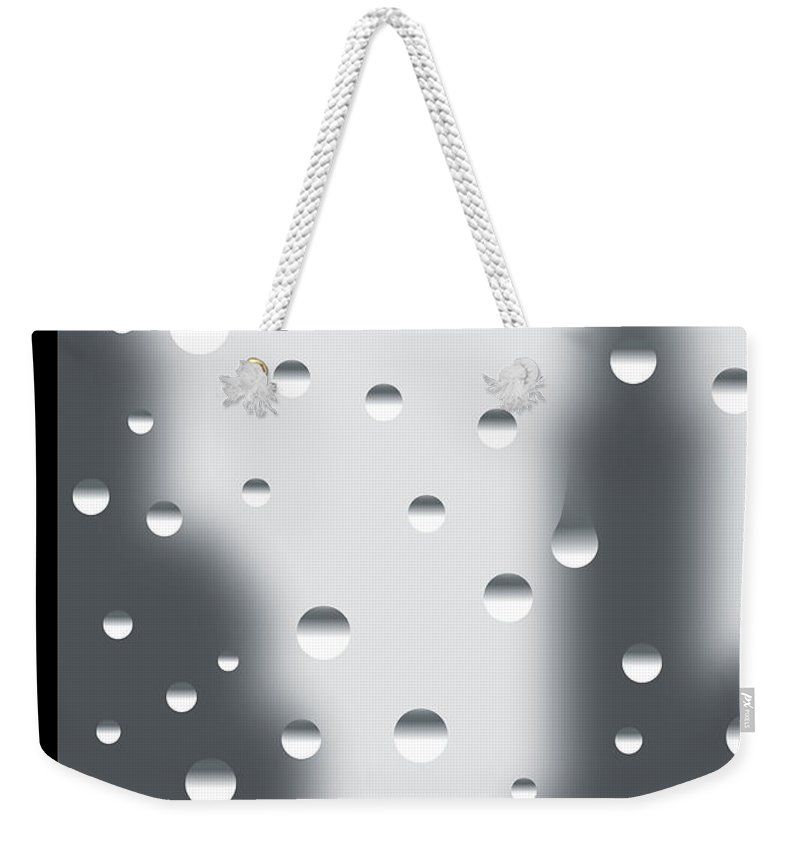 141060 Weekender Tote Bag featuring the painting Rainy Day by Christoph Niemann