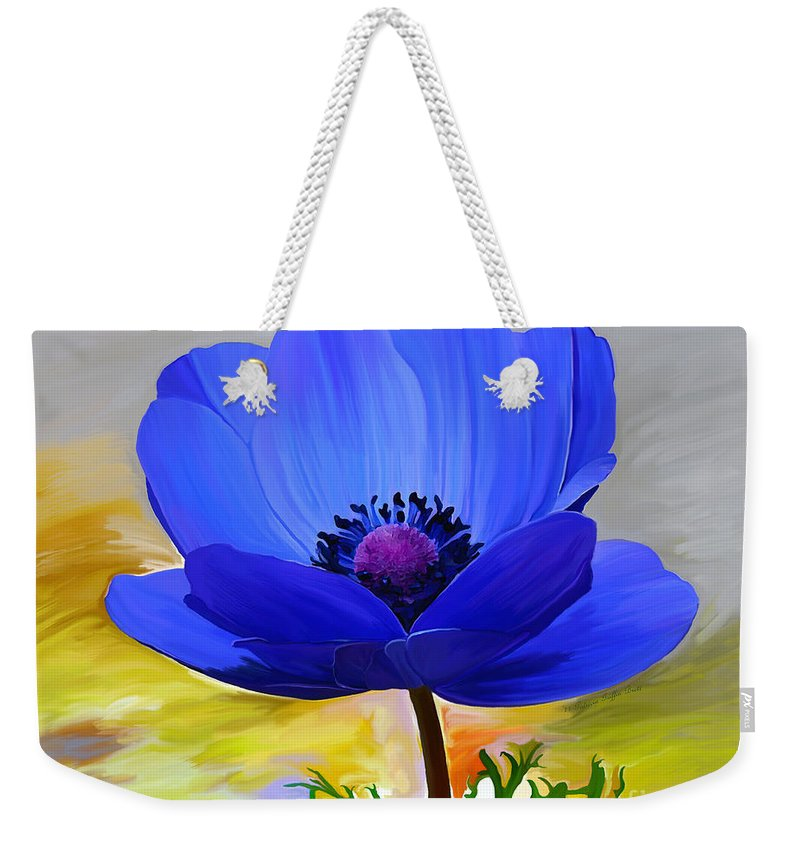 Fine Art Weekender Tote Bag featuring the painting Lord Lieutenant by Patricia Griffin Brett