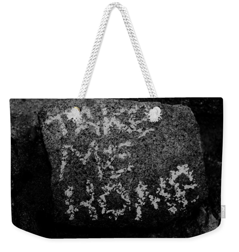 Disturbing Weekender Tote Bag featuring the photograph Lost by Jeff Heimlich