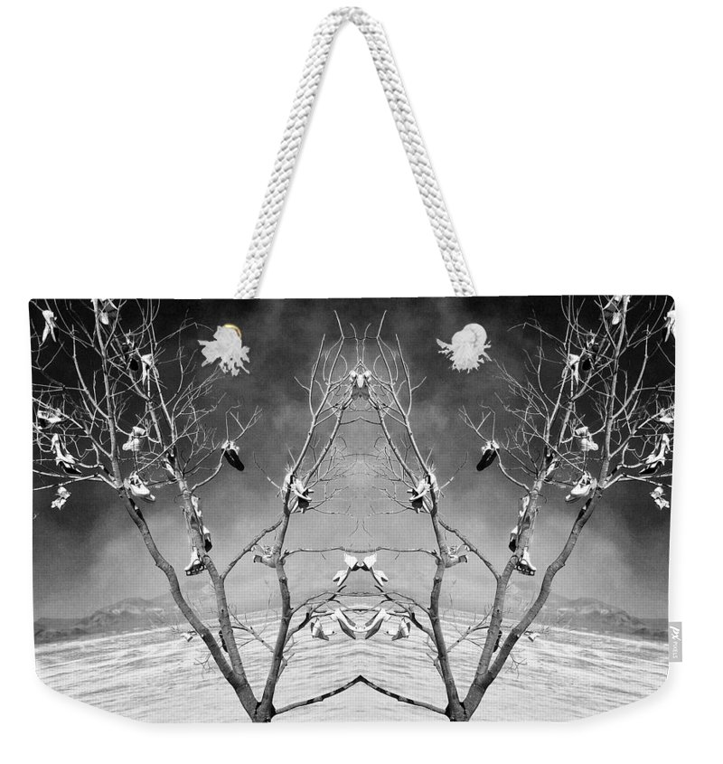Lost Soles Weekender Tote Bag featuring the photograph Lost Soles by Dominic Piperata