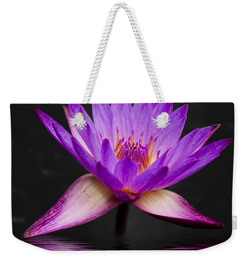 3scape Weekender Tote Bag featuring the photograph Lotus by Adam Romanowicz