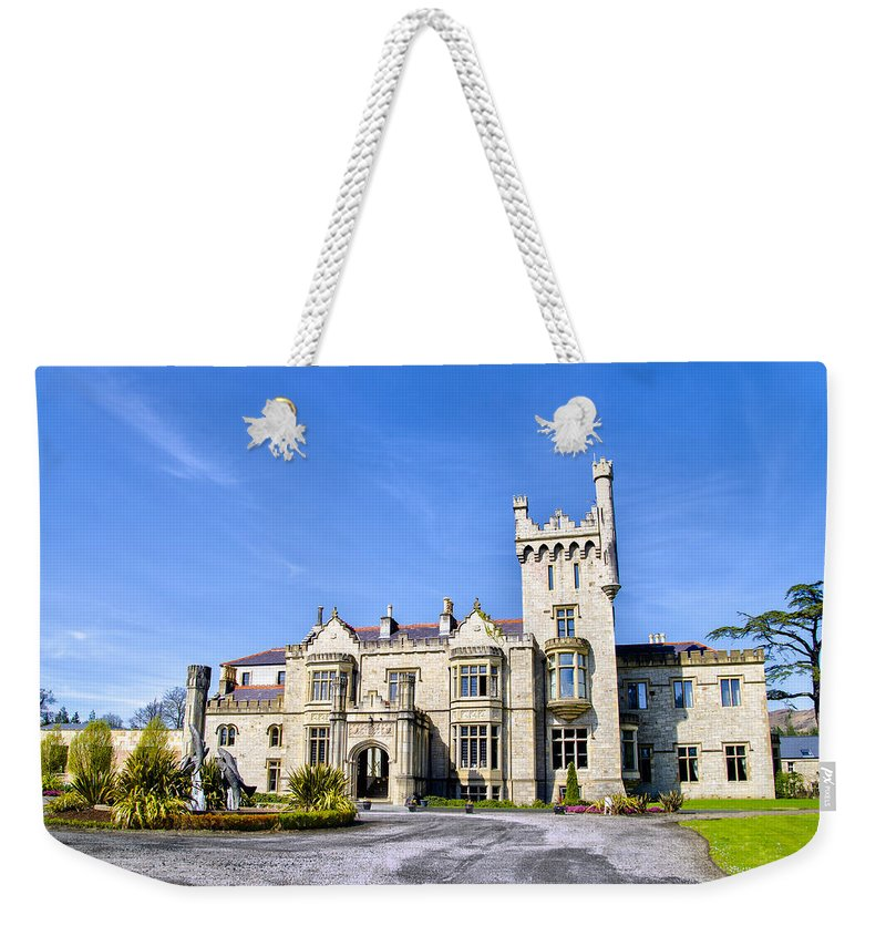 Lough Weekender Tote Bag featuring the photograph Lough Eske Castle - Ireland by Bill Cannon