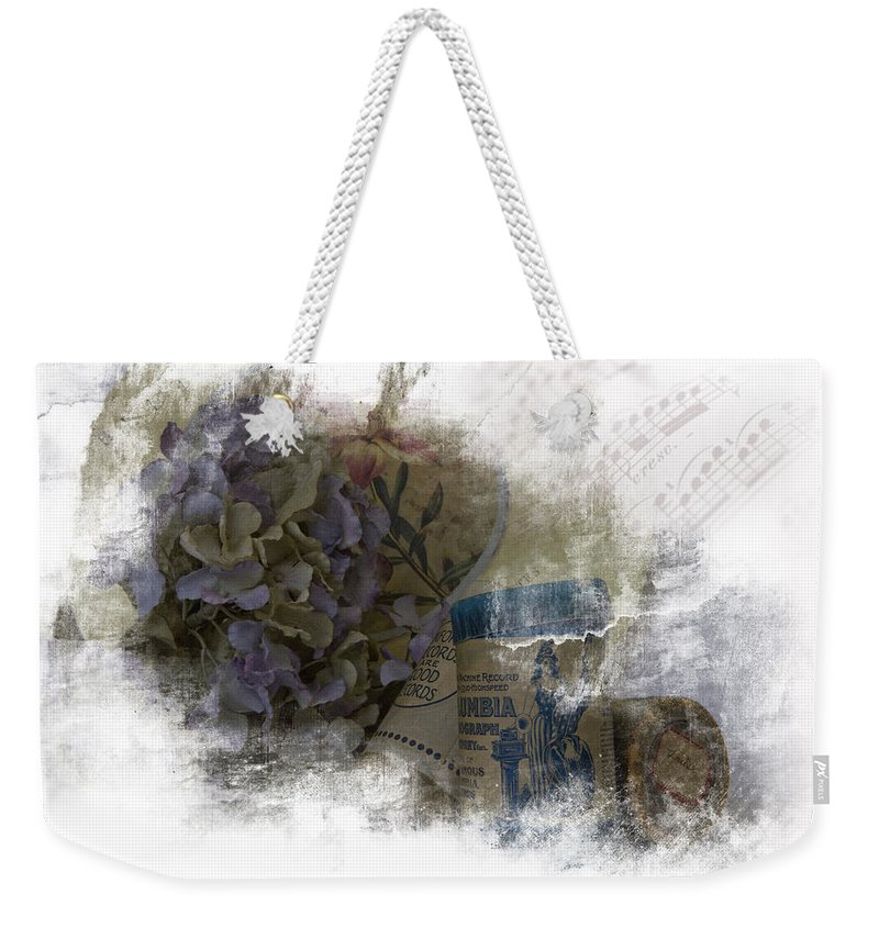 Antique Weekender Tote Bag featuring the photograph Louise by Evie Carrier