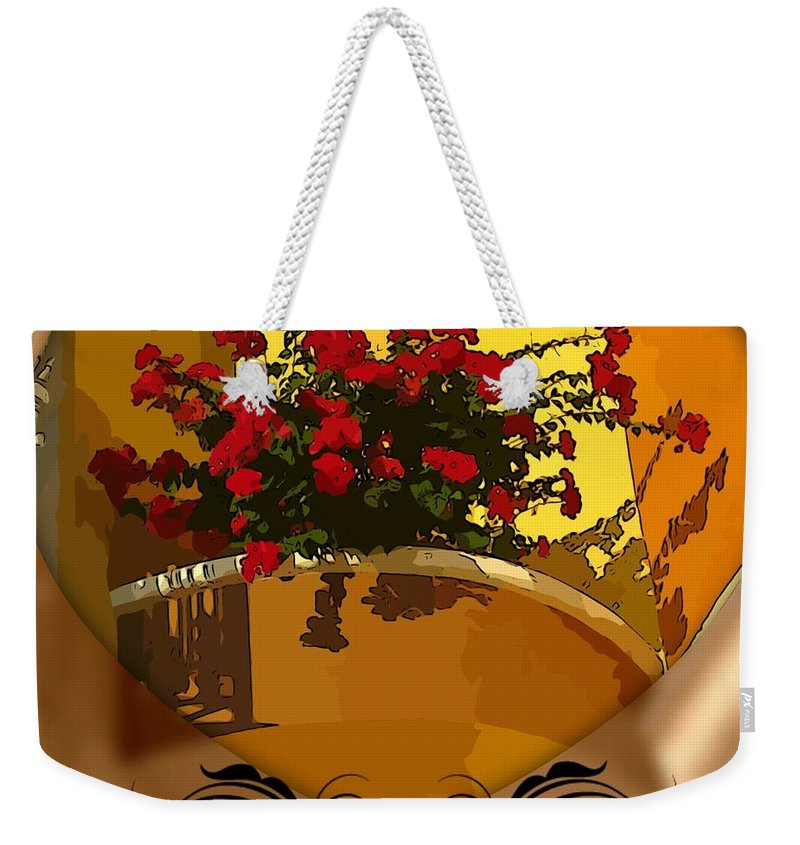 Love Blooms Weekender Tote Bag featuring the photograph Love Blooms by John Malone