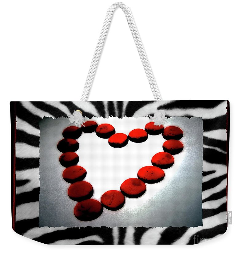Love Weekender Tote Bag featuring the photograph Love Comes Over You by Molly McPherson