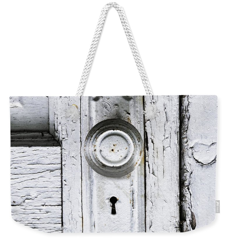 Old Weekender Tote Bag featuring the photograph Love Is At Your Door by Margie Hurwich