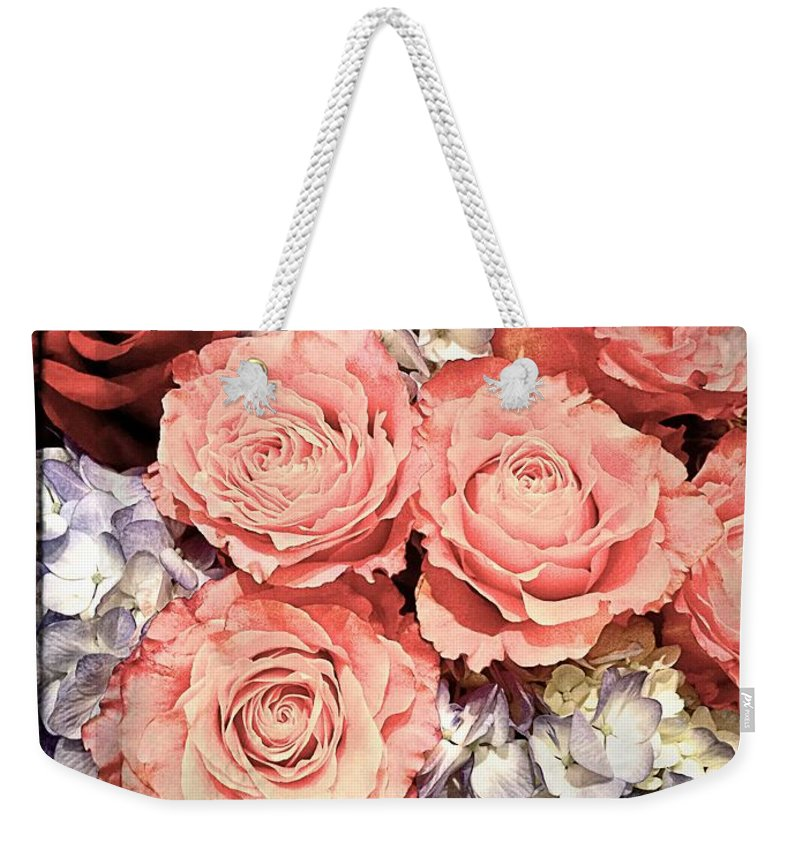 Flowers Weekender Tote Bag featuring the photograph Lovely Flowers by Alice Gipson