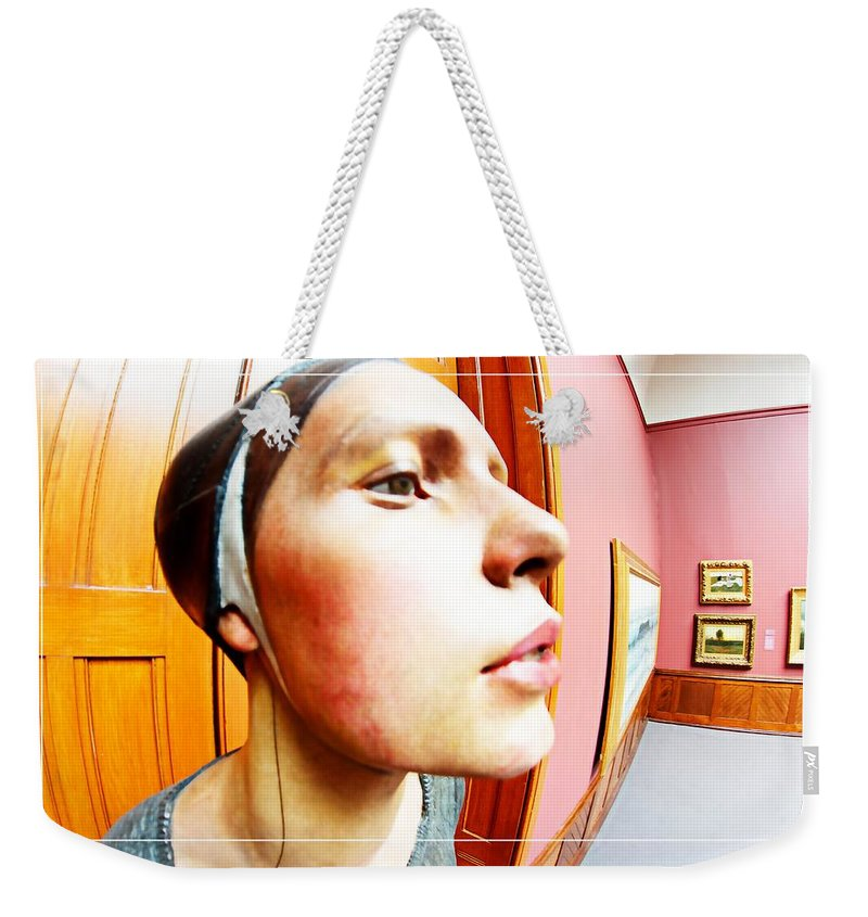 Profile Weekender Tote Bag featuring the photograph Lovely Profile by Alice Gipson