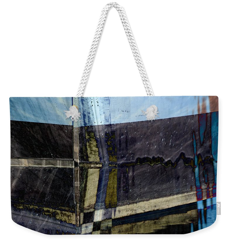 Low Tide Weekender Tote Bag featuring the photograph Low Tide 4 by Carol Leigh