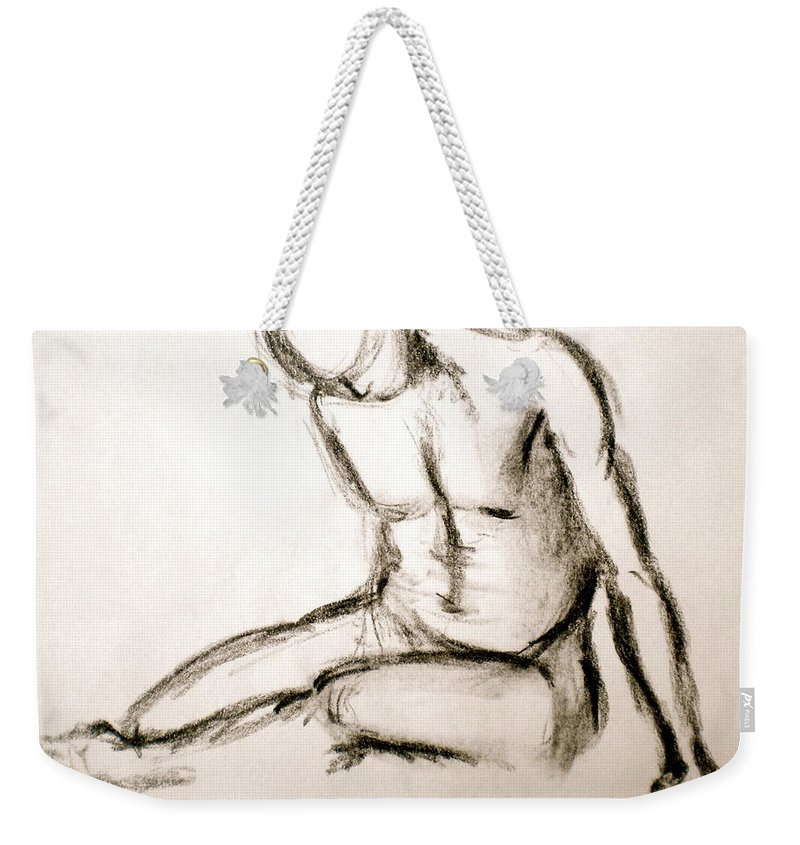 Lucky Charms Weekender Tote Bag featuring the drawing Lucky Charms by Debi Starr