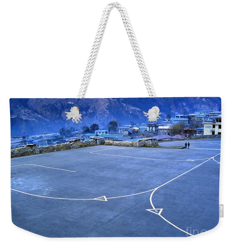 Airport Weekender Tote Bag featuring the photograph Lukla Airport by Tim Hester