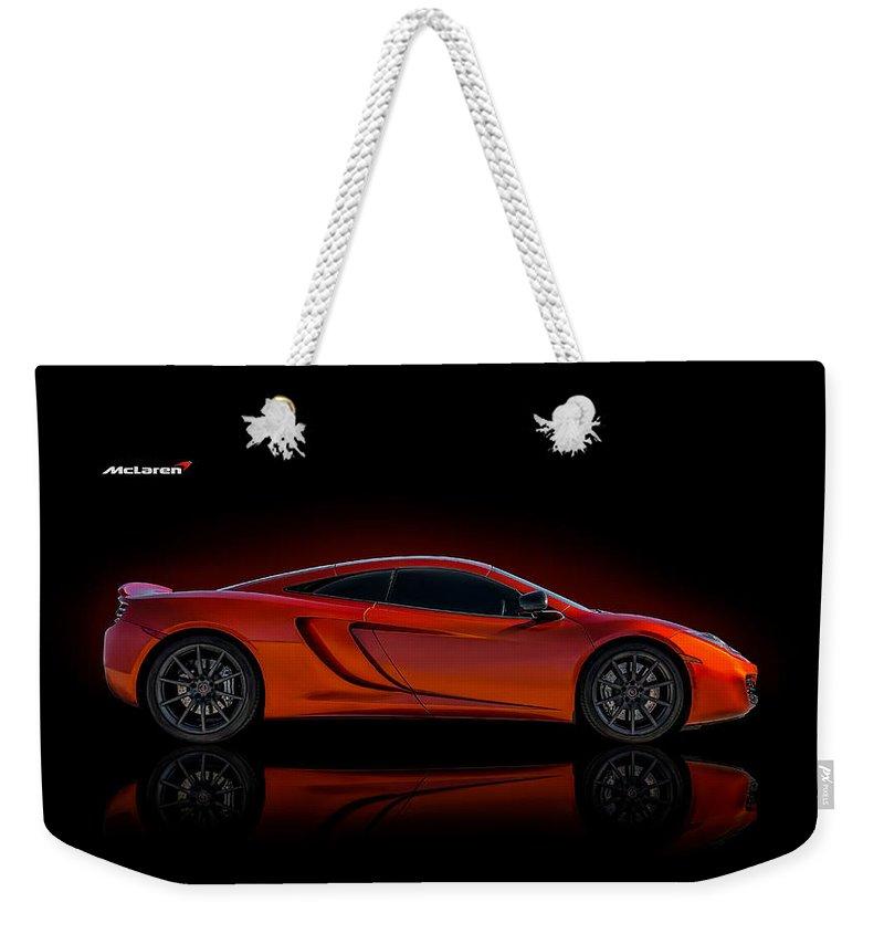 Mclaren Weekender Tote Bag featuring the digital art Mac Daddy by Douglas Pittman