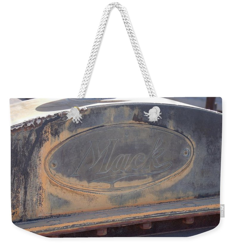 Mack Truck Weekender Tote Bag featuring the photograph Mack by David S Reynolds