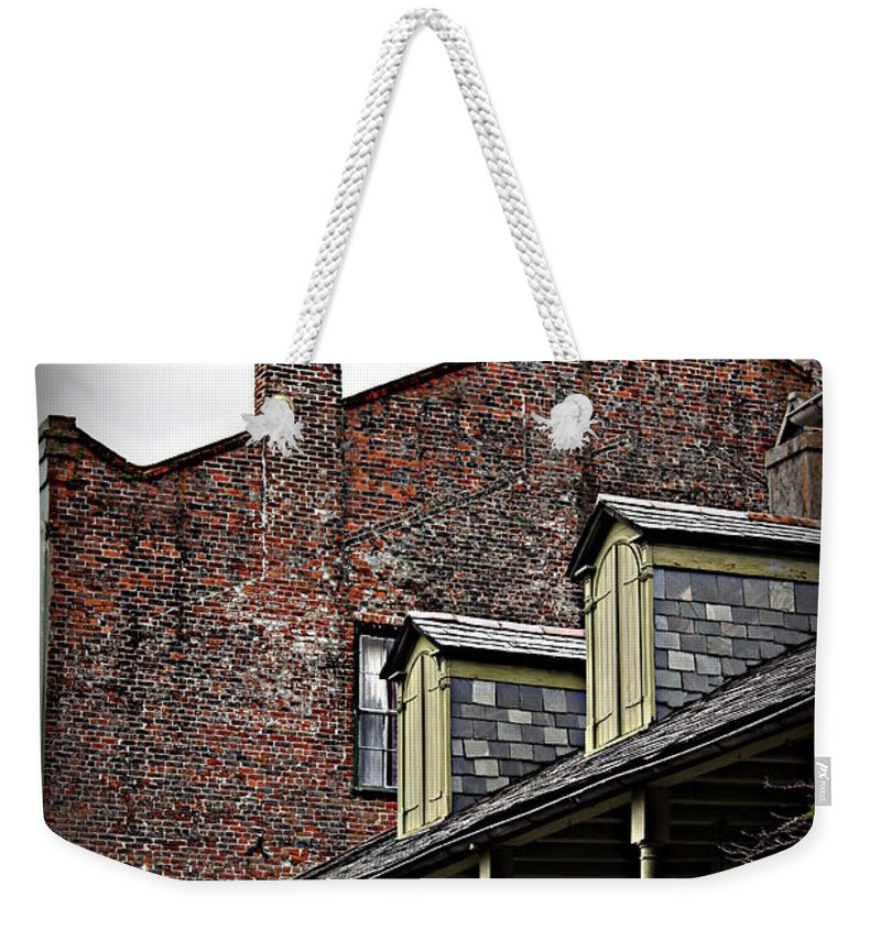 Madame John's Legacy Weekender Tote Bag featuring the photograph Madame John's Legacy by Beth Vincent