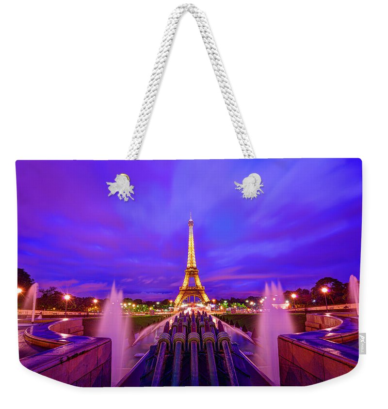 Eiffel Tower Weekender Tote Bag featuring the photograph Magic Moment by Midori Chan