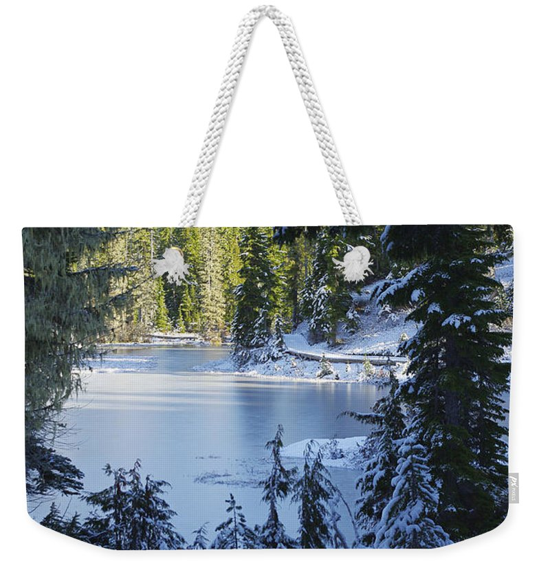 Nature Weekender Tote Bag featuring the photograph Magical Morning by Marilyn Wilson
