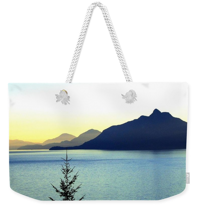 Vancouver Weekender Tote Bag featuring the photograph Magnificent Howe Sound by Will Borden