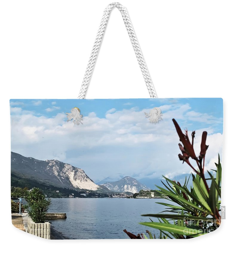 Travel Weekender Tote Bag featuring the photograph Magnificient Maggiore by Elvis Vaughn