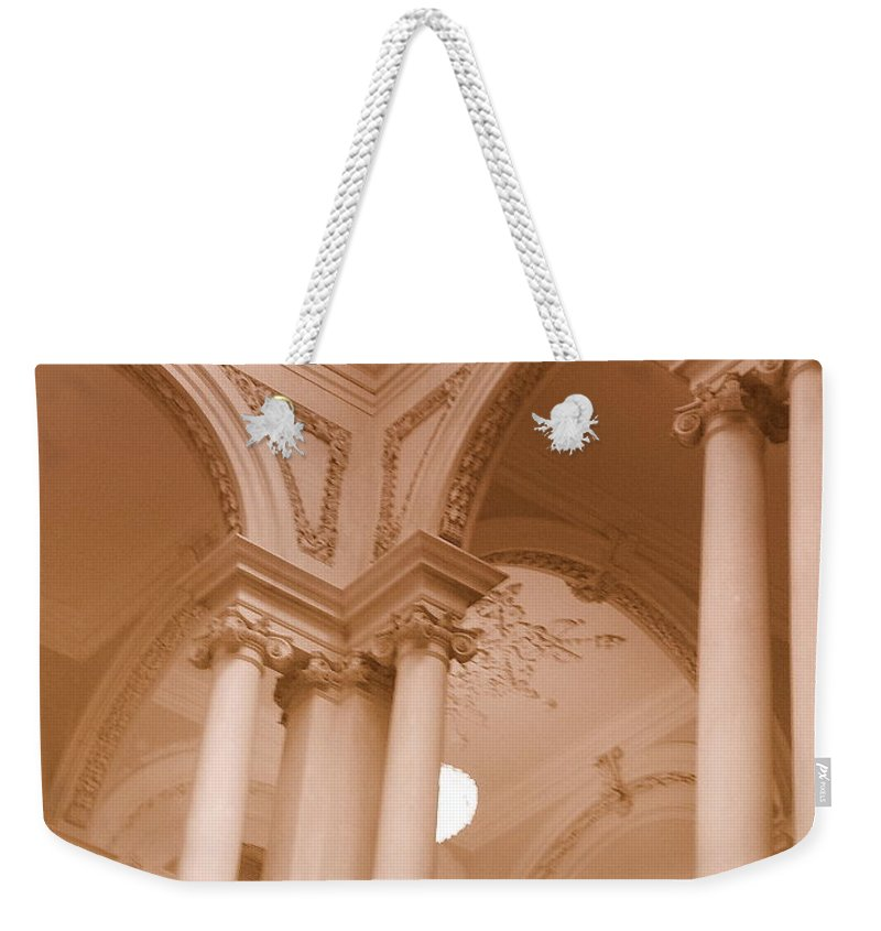 Architecture Weekender Tote Bag featuring the photograph Majestic by Lingfai Leung