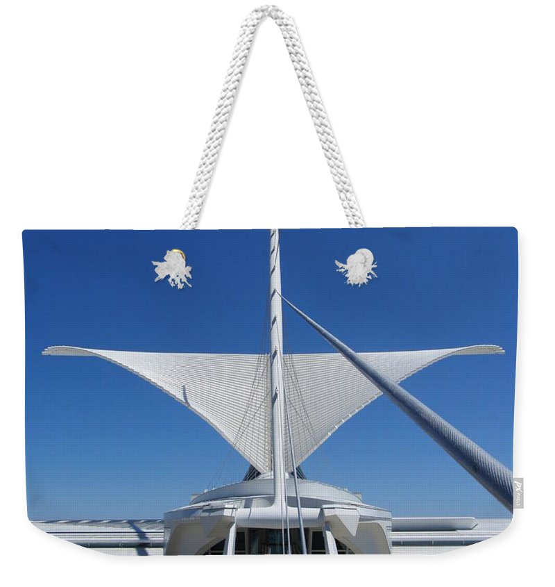 Mam Weekender Tote Bag featuring the photograph Mam From Bridge 3 by Anita Burgermeister