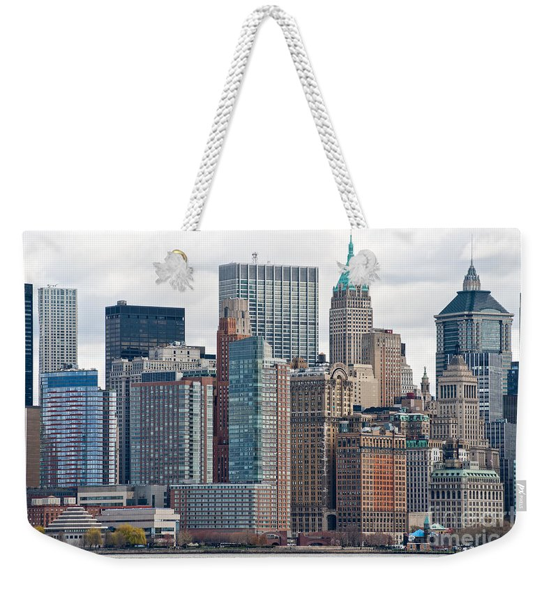 Usa Weekender Tote Bag featuring the photograph Manhattan - New York City by Luciano Mortula