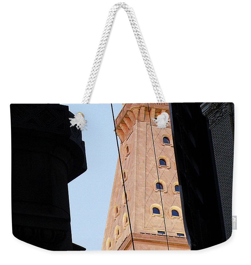 Skyscrapers Weekender Tote Bag featuring the photograph Manhattan Dusk by Ira Shander