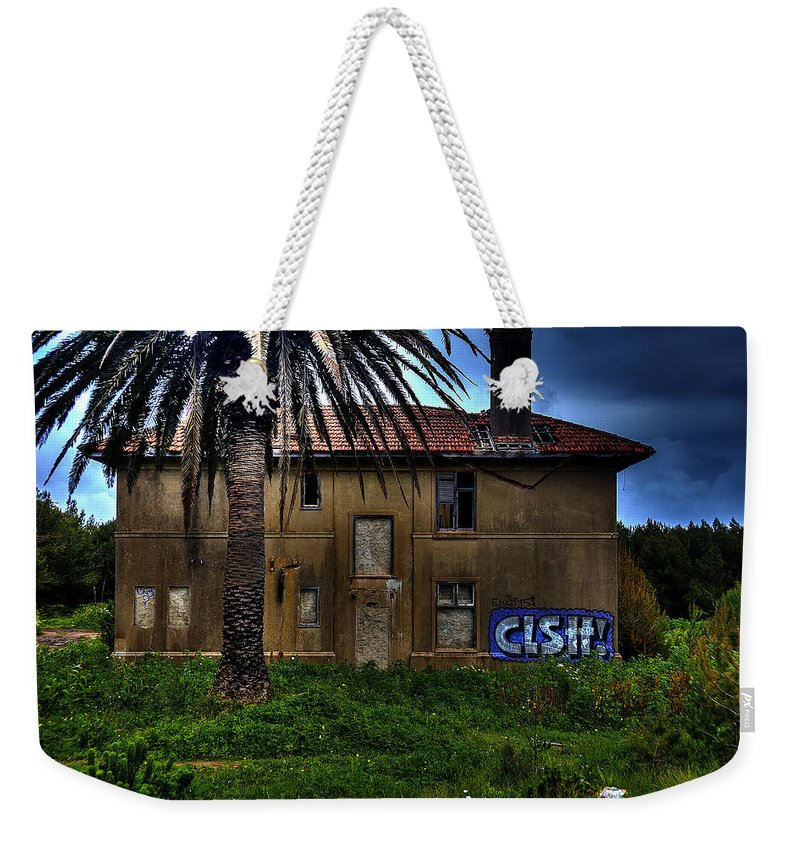 Mansion In The Woods Weekender Tote Bag featuring the photograph Mansion In The Woods by Marco Oliveira