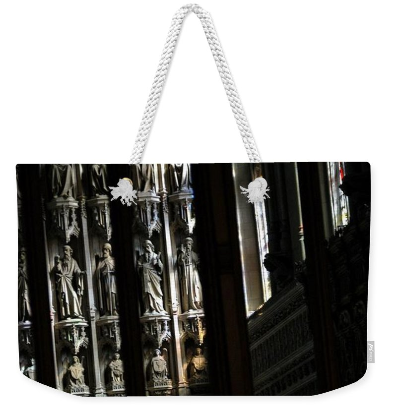 Alter Weekender Tote Bag featuring the photograph Many Saints by Joseph Yarbrough