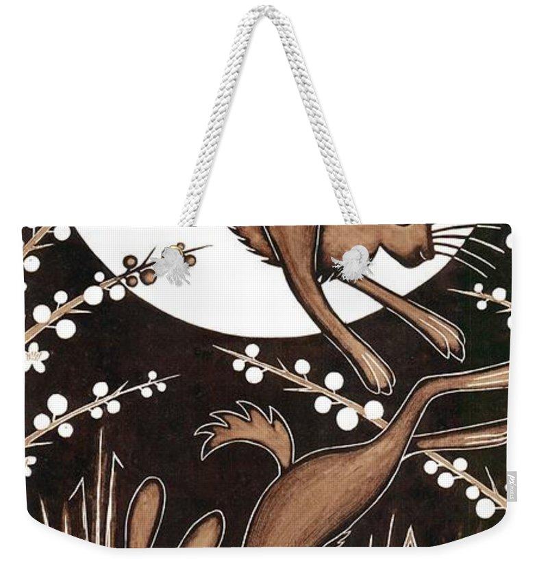 Printmaking Weekender Tote Bags