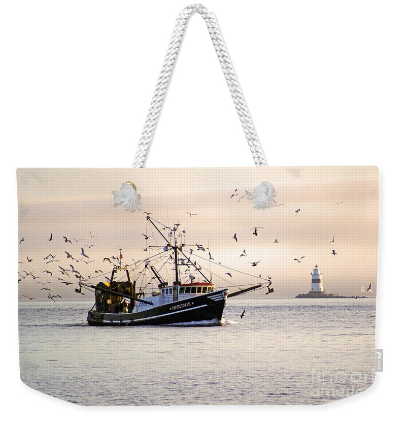 Landscape Weekender Tote Bag featuring the photograph Maritime Heritage 2 by Joe Geraci