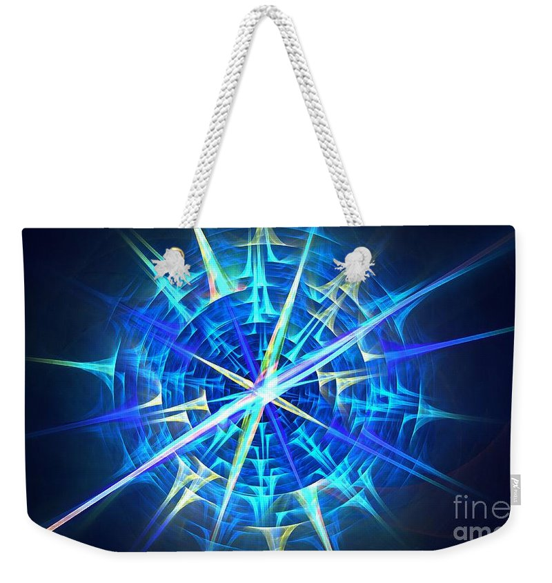 Apophysis Weekender Tote Bag featuring the digital art Maritime by Kim Sy Ok
