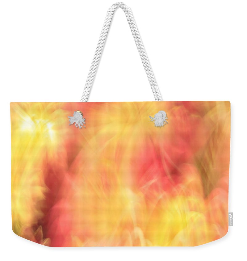 Heaven Weekender Tote Bag featuring the photograph Marriage In Heaven by Munir Alawi