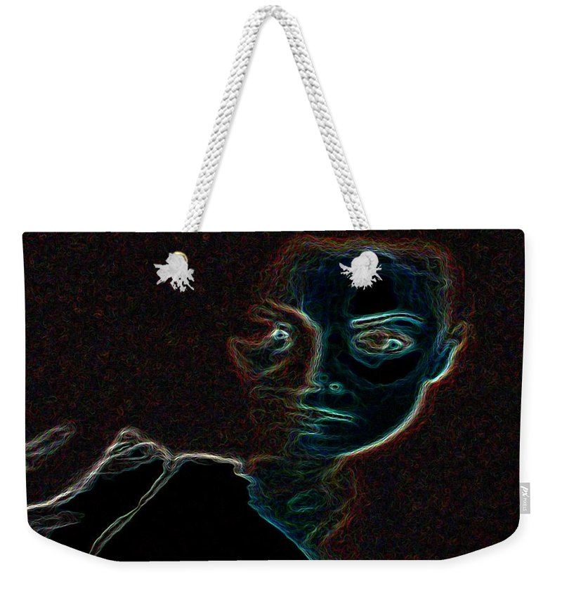 Mary Magdalene Weekender Tote Bag featuring the photograph Mary Magdalene Sees The Empty Tomb Of Jesus by George Pedro
