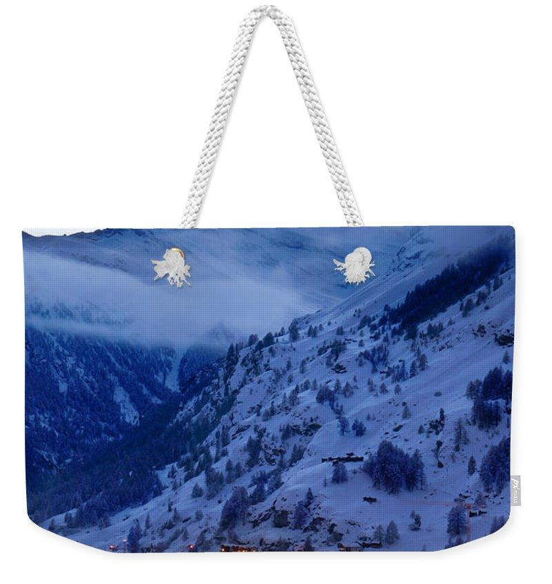Matterhorn Weekender Tote Bags