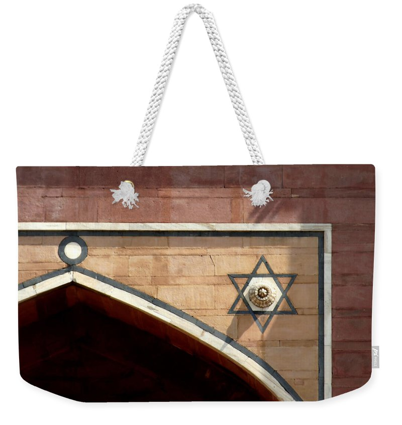 India Weekender Tote Bag featuring the photograph Meditate On This I Will by A Rey