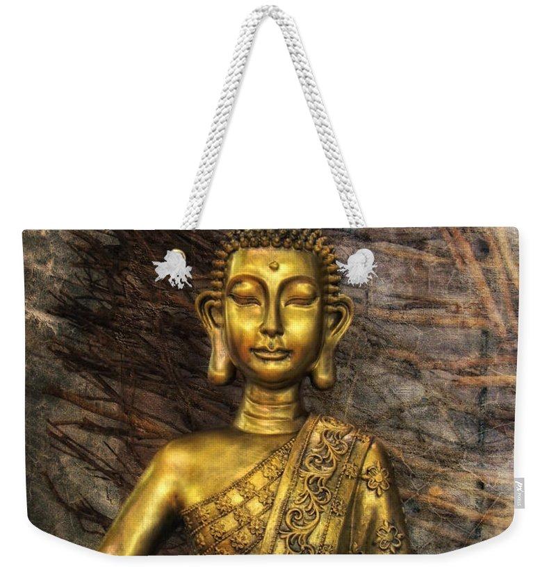 Meditation Weekender Tote Bag featuring the photograph Meditation by Joachim G Pinkawa