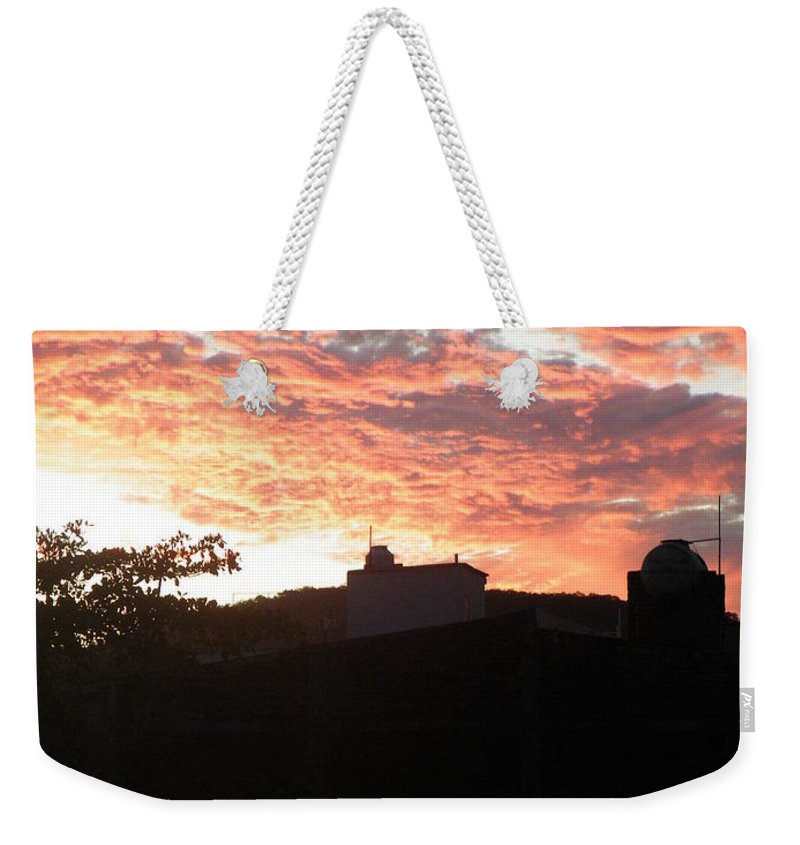 Sunset Weekender Tote Bag featuring the photograph Melaque Sunset by Brian Boyle