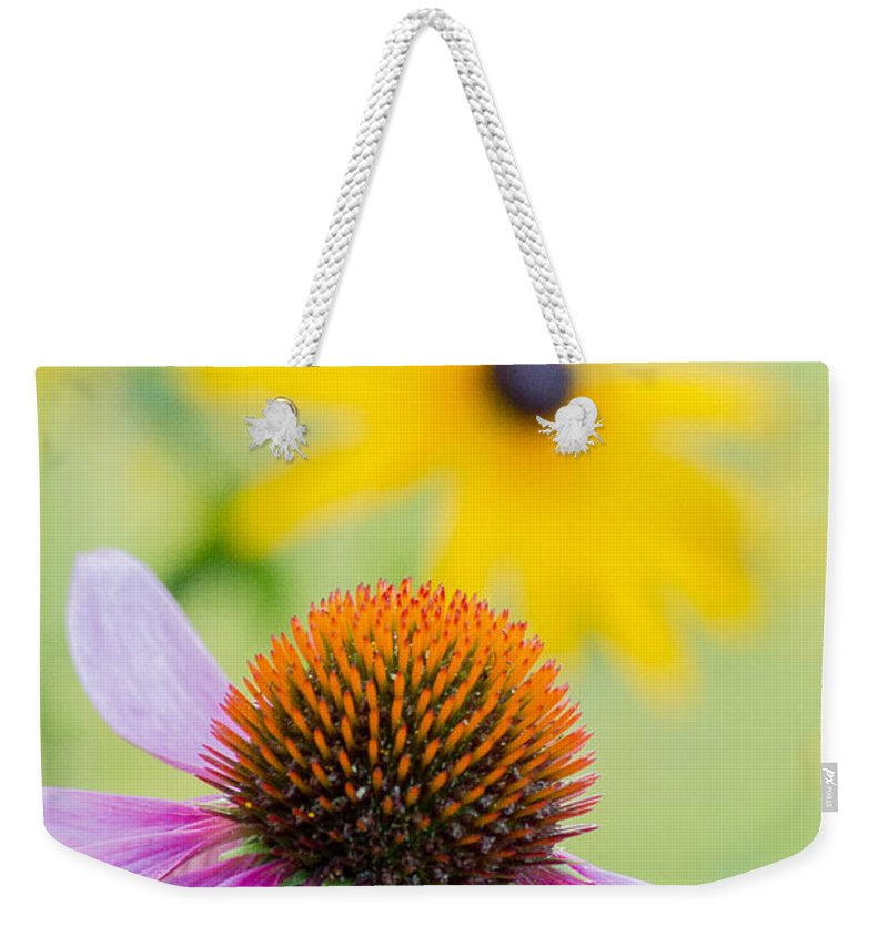 Flower Photograph Weekender Tote Bag featuring the photograph Mellow Yellow by Garvin Hunter