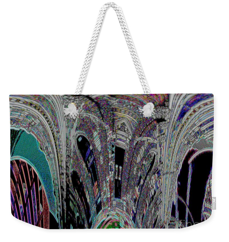 Weekender Tote Bag featuring the photograph Melting Pot by Kelly Awad