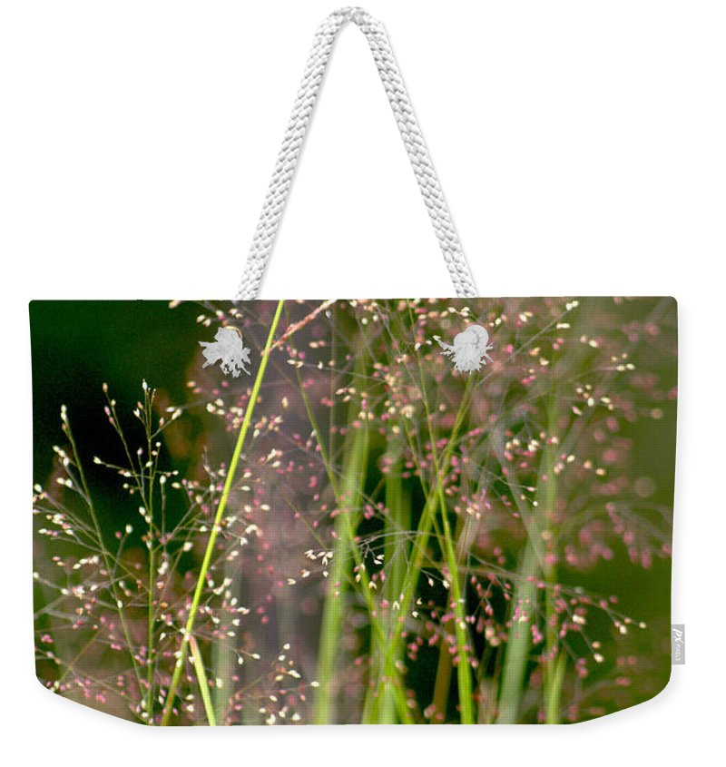 Floral Weekender Tote Bag featuring the photograph Memories Of Springtime by Holly Kempe